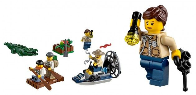 LEGO_swamp police starter set full