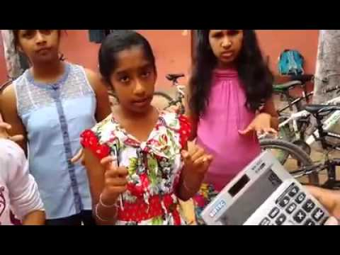 These Girls Are Solving Math Calculations Using Hand Gestures And Mental Manipulation