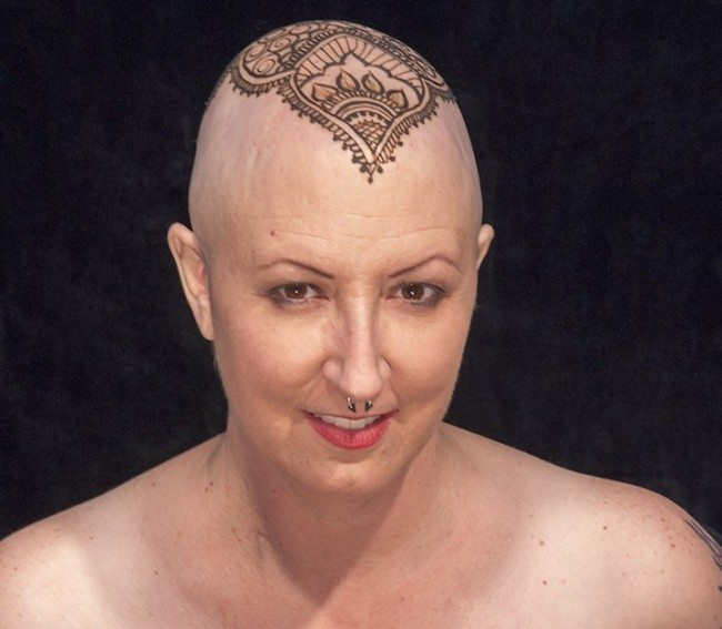"Breast Cancer Warrior Shares ""Some Things I've Done With My Head During Chemo"""