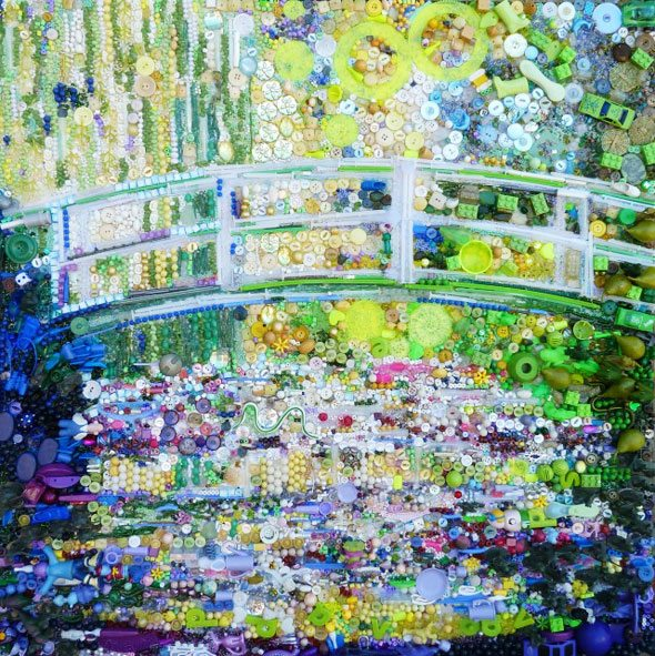 The-Bridge-of-Lily-Pond-Mone