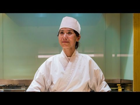 Chef Nakaba Miyazaki Challenges The Male Dominated Sushi Chef Tradition