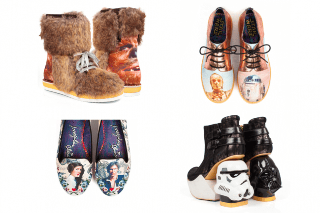 wholesale dealer 0e913 16137 New Star Wars-Themed Footwear For Women  May The Force Be With… Your Feet