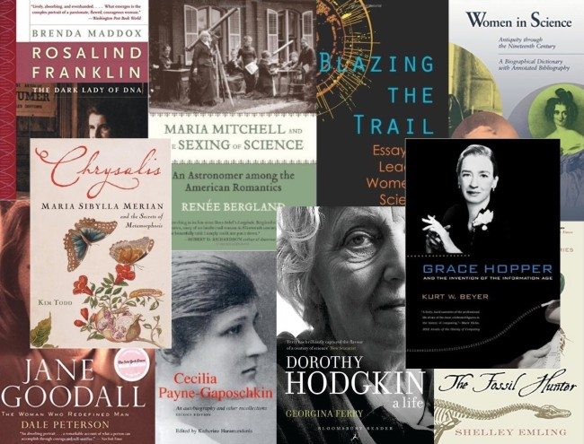 women in science book list