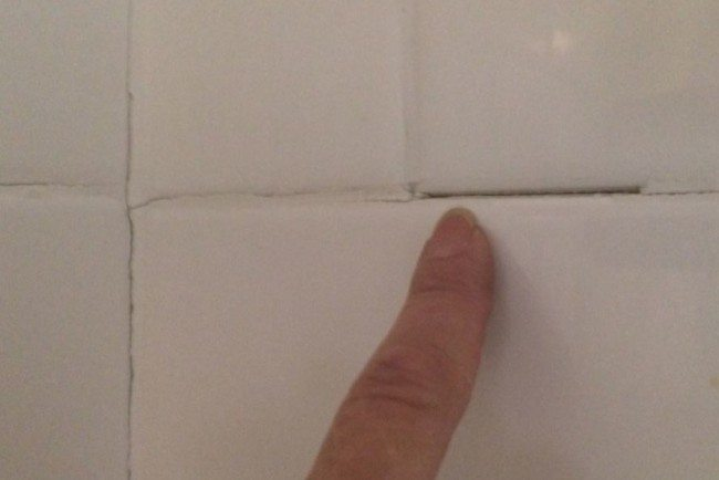 Prime Fix It Friday When A Little Missing Grout Creates A Big Download Free Architecture Designs Lukepmadebymaigaardcom