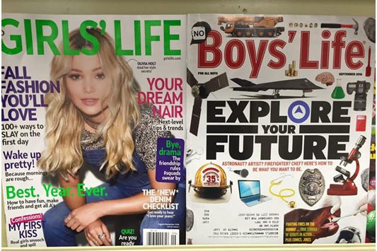 Girls' Life vs Boy's Life