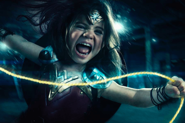 Watch Photographer Turn 3-Year-Old Daughter Into Wonder Woman In Epic Photo Series