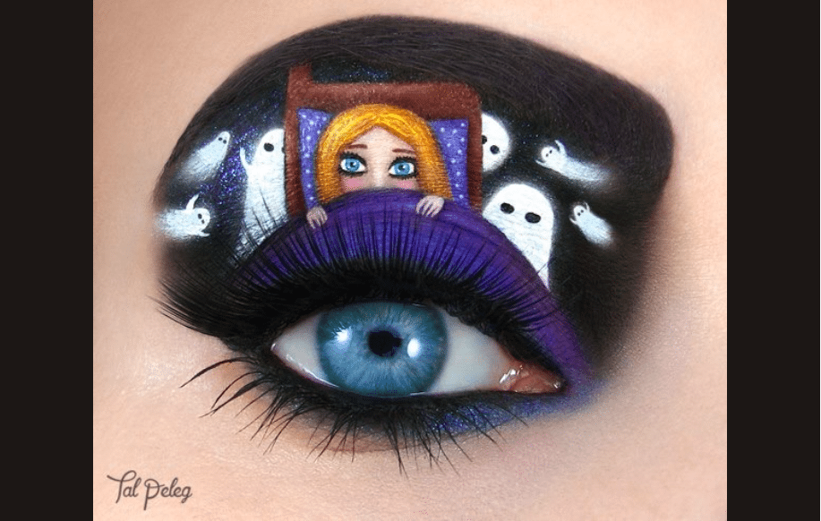 Using Her Eye As The Canvas Tal Peleg Takes Makeup Eye Art To The