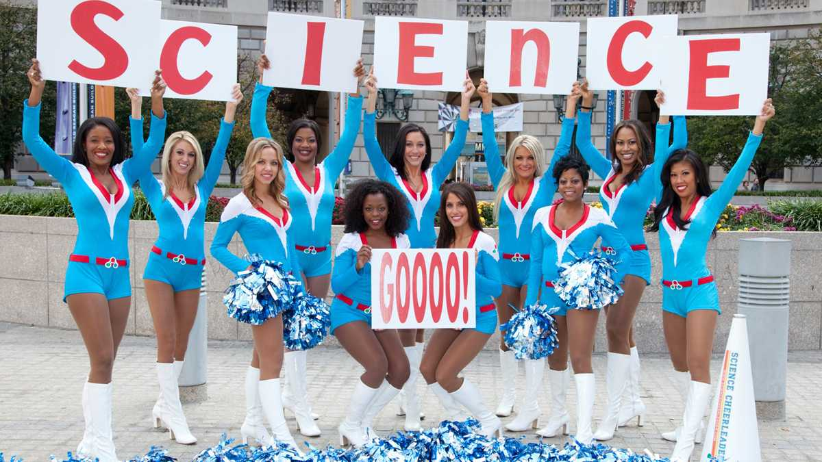 science cheerleader