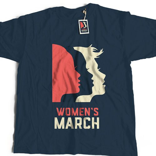 Women's March logo t-shirt
