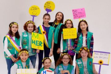 girl scouts monumental women