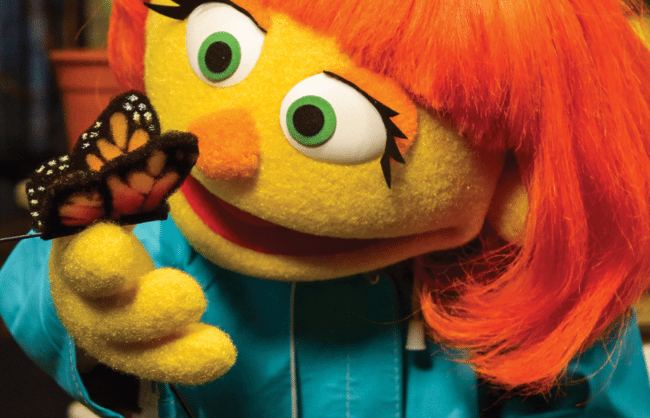 Sesame Street Welcomes Julia, A New Muppet With Autism