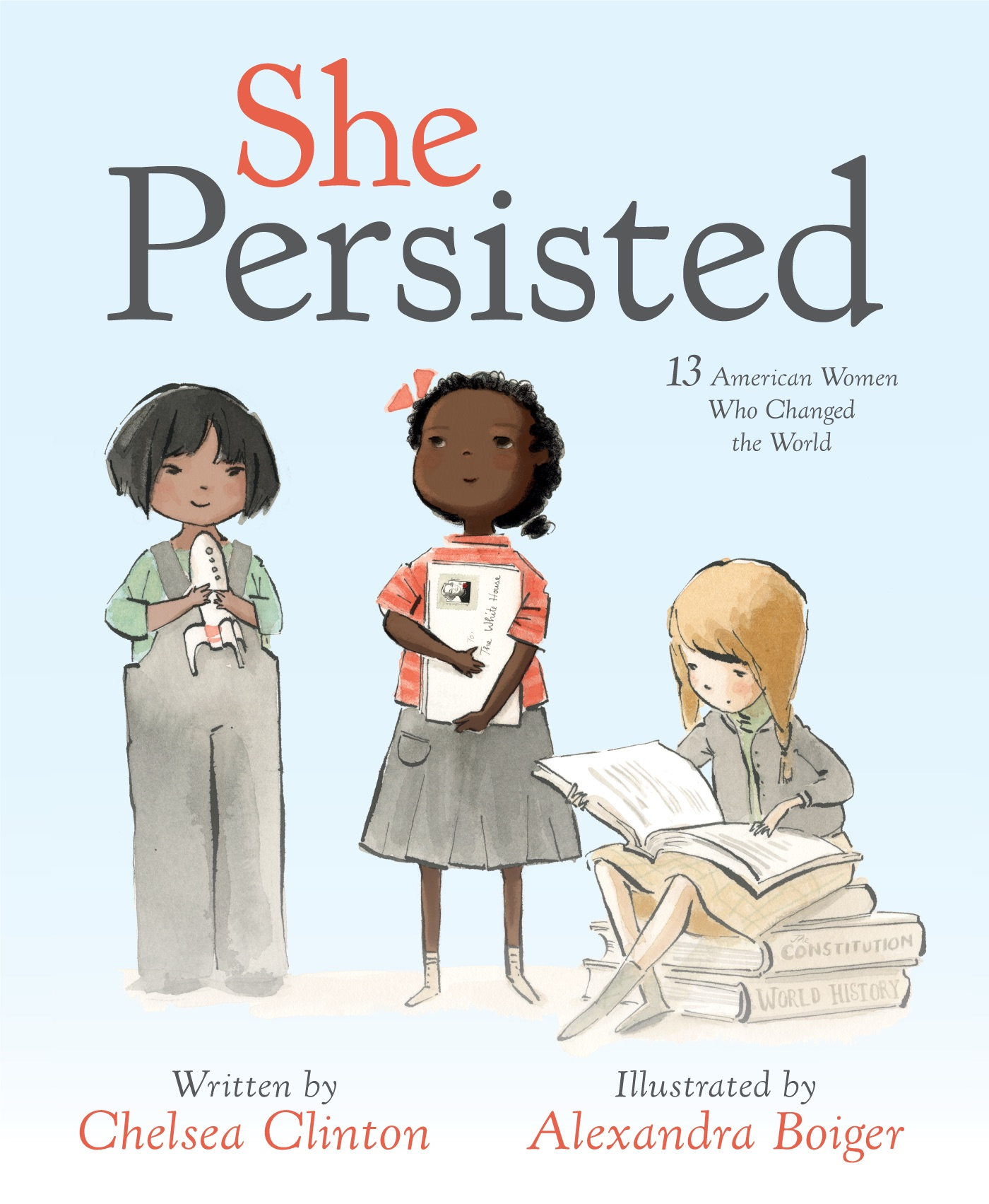 Children S Book Covers Alan Powers : She persisted new children s book by chelsea clinton