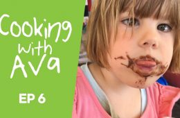 Cooking With Ava pancakes
