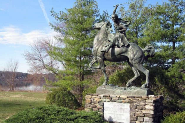 """Her """"Midnight Ride"""": I'm Pissed I Never Learned About 16-Year-Old American Hero Sybil Ludington"""