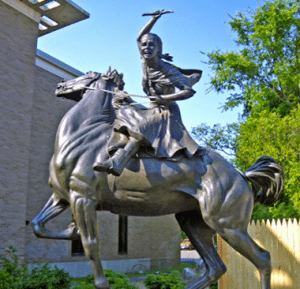 Sybil Ludington sculpture