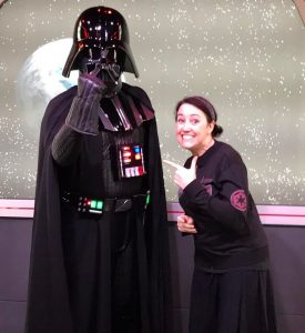 Catherine and Darth Vader