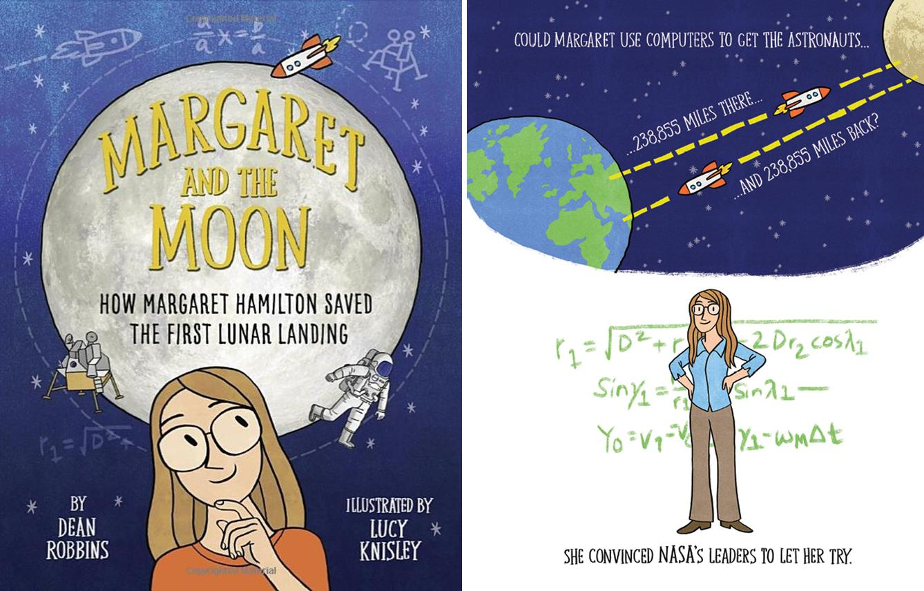 margaret and the moon spread