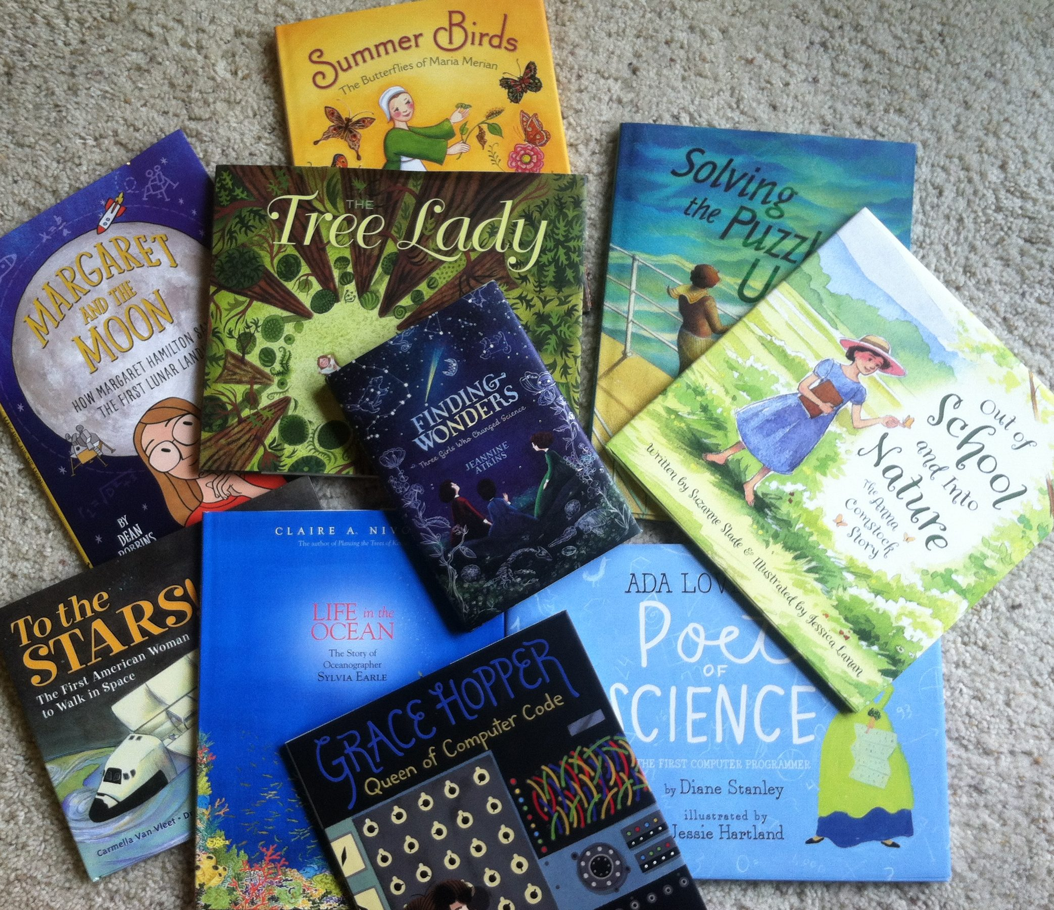 women in science kids book roundup