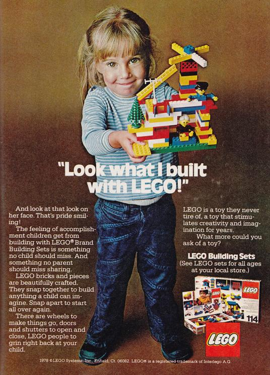 old lego ad