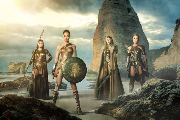 the amazons official wonder woman