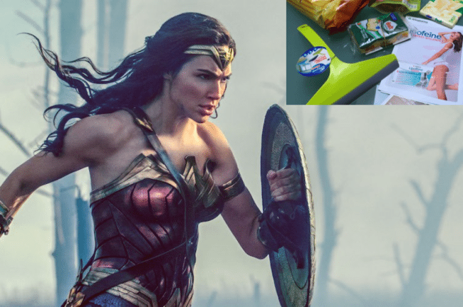 wonder woman goody bag