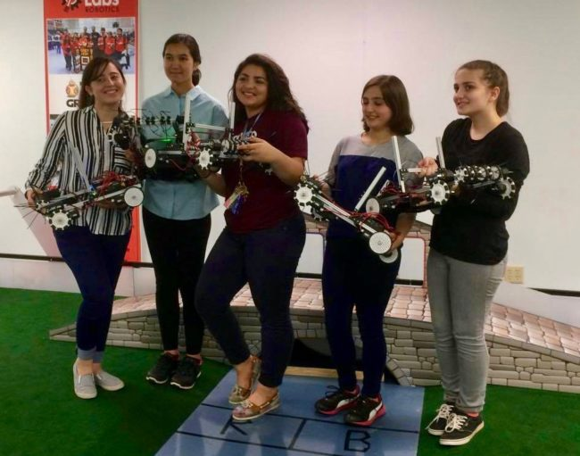 Afghan Robotics American girls
