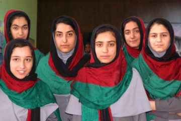 Robin Morgan Afghan Robotics Team