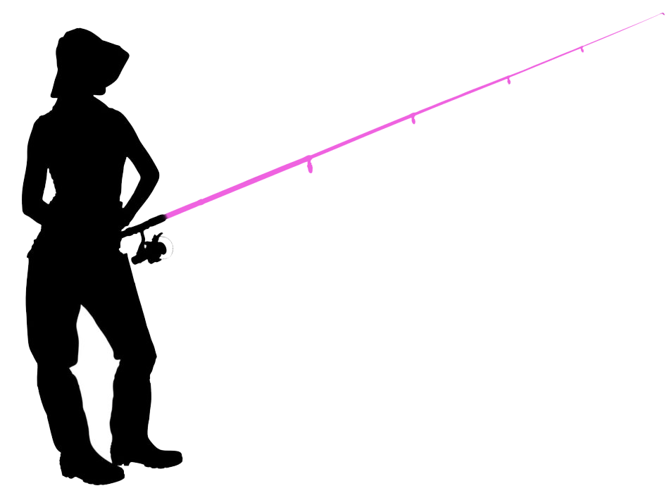 for Pink fishing rod