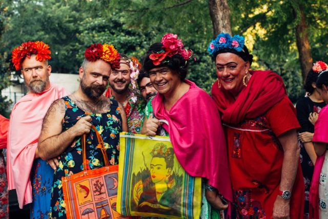 frida kahlo lookalikes men