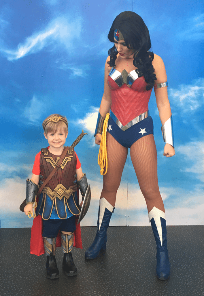 handmade Wonder Woman costume