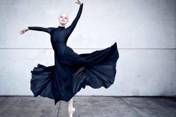 bald ballerina breast cancer