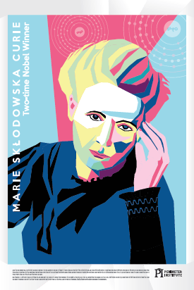 Marie Curie science posters
