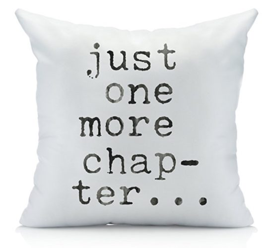 book lover pillow