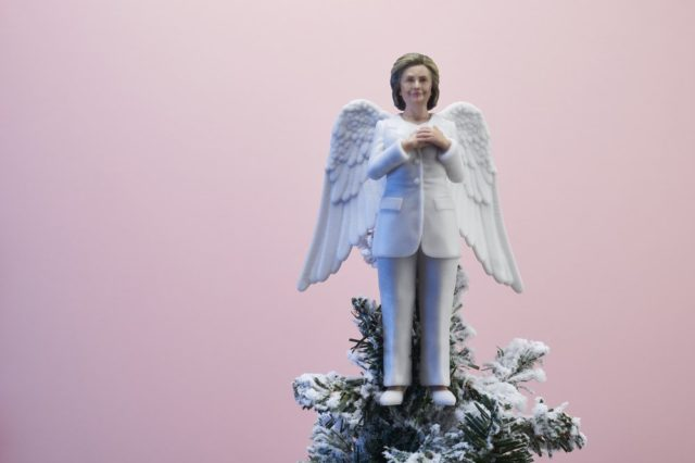 Inspiring Women Hillary Clinton Tree Topper