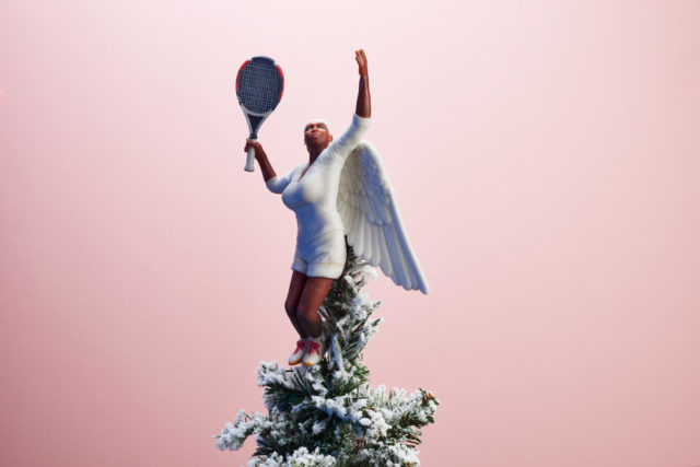 Inspiring Women Serena Williams Tree Topper