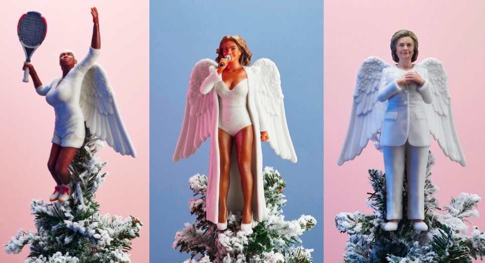 Inspiring Women Christmas Tree Topper