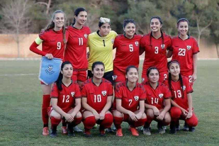6f94456e1 Afghanistan Women's National Football Team Are Being Bullied For Wearing  Athletic Clothing During Match
