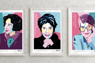 women in science posters