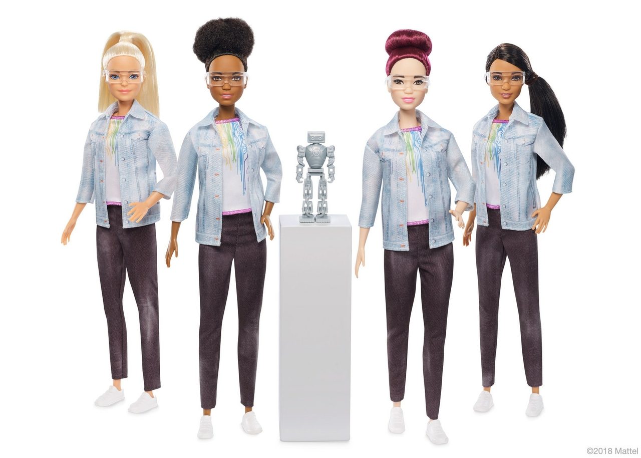 robotics engineer barbie