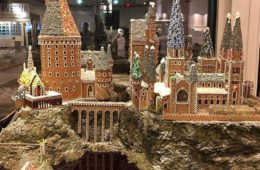 hogwarts gingerbread