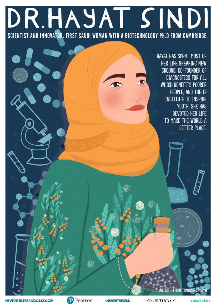 Downloadable STEM Role Models Posters Celebrate Women Innovators As Illustrated By Women Artists