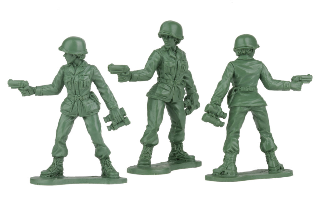 Plastic Army Women