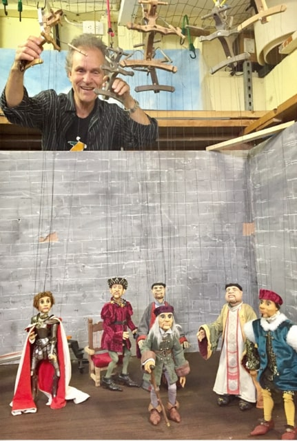 joan of arc puppets