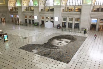 ida b wells suffrage mosaic